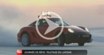 Reportage M6 Turbo : journ�e de r�ve en Laponie