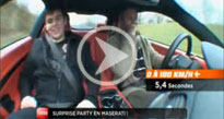 Reportage M6 Turbo : journ�e de r�ve en Maserati